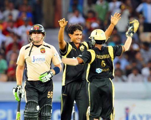 Sourav Ganguly was the star performer for the Kolkata Knight Riders