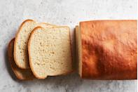 """Maybe you're not quite ready to <a href=""""https://www.epicurious.com/expert-advice/how-to-make-english-muffins-article?mbid=synd_yahoo_rss"""" rel=""""nofollow noopener"""" target=""""_blank"""" data-ylk=""""slk:make your own English muffins"""" class=""""link rapid-noclick-resp"""">make your own English muffins</a> at home. May we suggest this bread instead? There's no better partner for jam or preserves. <a href=""""https://www.epicurious.com/recipes/food/views/english-muffin-toasting-bread-king-arthur-bakers-companion?mbid=synd_yahoo_rss"""" rel=""""nofollow noopener"""" target=""""_blank"""" data-ylk=""""slk:See recipe."""" class=""""link rapid-noclick-resp"""">See recipe.</a>"""