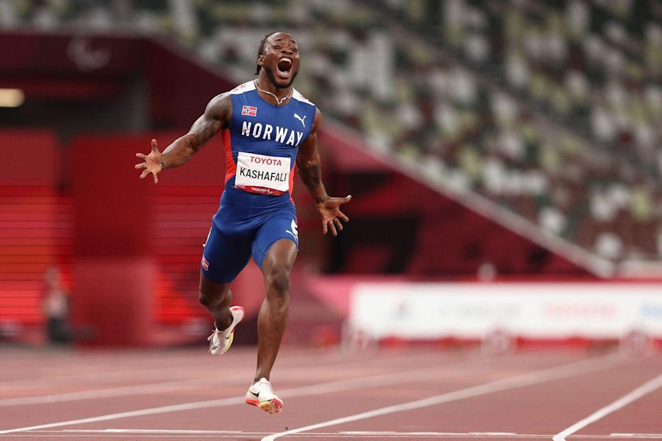 <p>Salum Ageze Kashafali smashed a world record to win gold in the men's T12 100m event – securing the title with an epic 10.43 run. </p>
