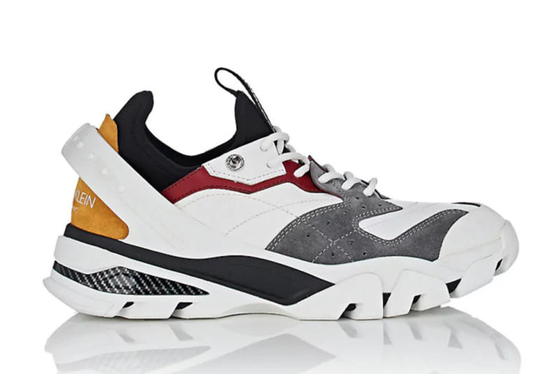 55957fa8af3 You Can Preorder Calvin Klein s New  Dad Shoe  Sneakers Designed by Raf  Simons Now