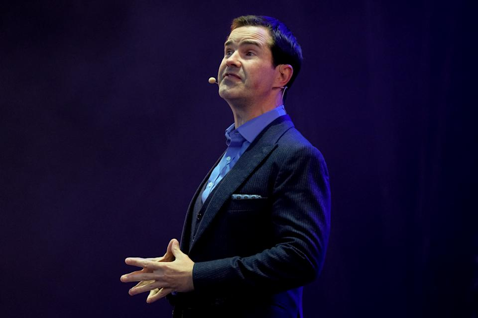 Jimmy Carr says it's likely his comedy career will be ended for a joke he has already told. (Thomas M Jackson/Getty Images)