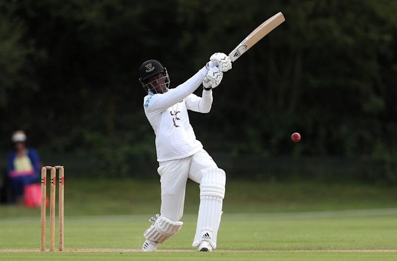Archer hit 108 for Sussex as they closed on 279 for eight. (Credit: Getty Images)