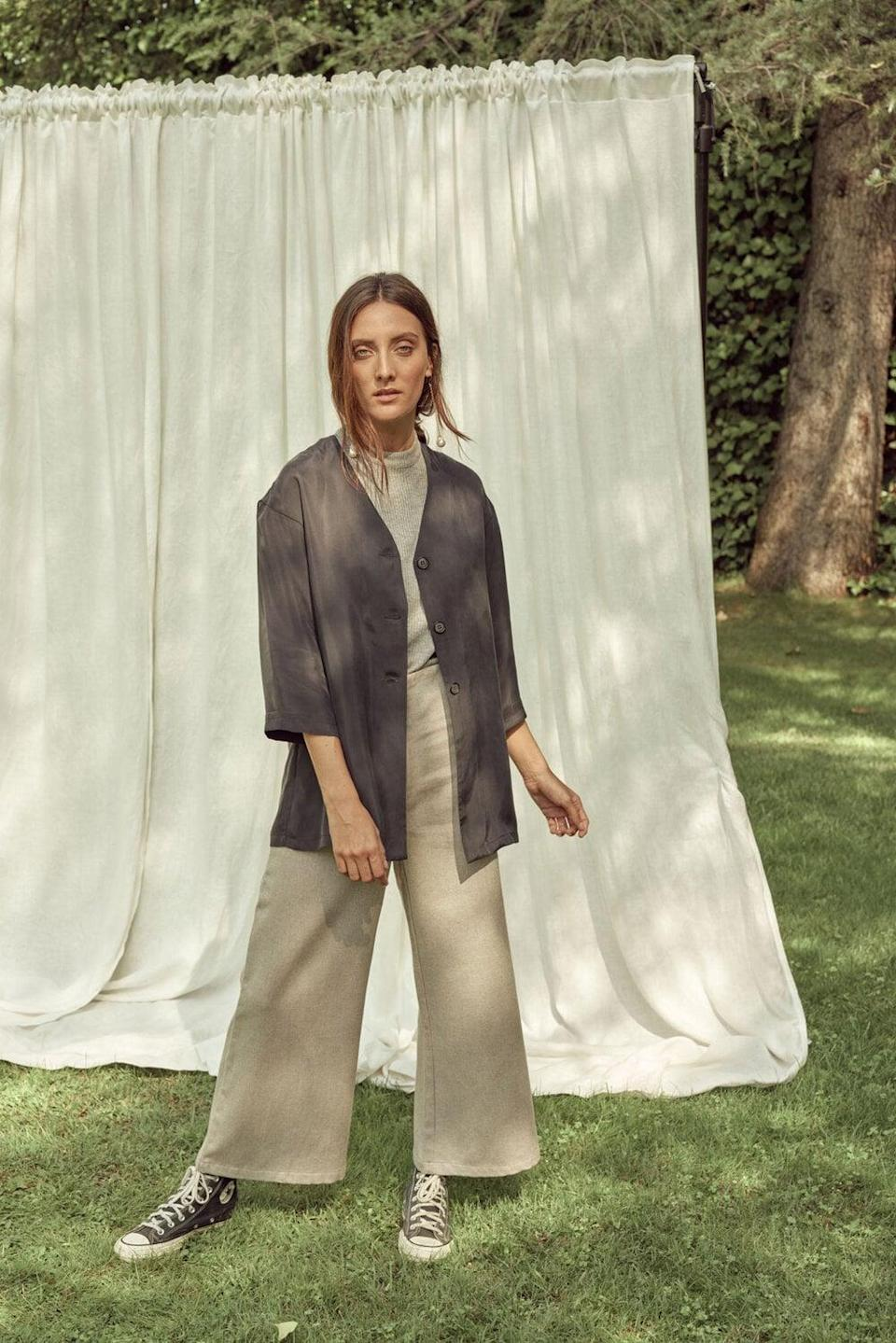 <p>Spanish brand Sunad has a slow-fashion philosophy. The company's goal is to bring back timeless designs using only natural fibers. All of Sunad's products are created in Spain in an attempt to promote the country's rich history of textiles. </p> <p><strong>What We'd Buy</strong>: <span>Sunad Barrosa Noche Shirt</span> ($100)</p>