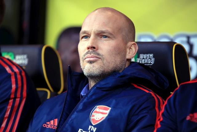 Freddie Ljungberg's first game as manager ended in a draw (Adam Davy/PA)