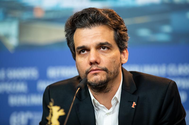 Wagner Moura attends the 'Marighella' Press Conference during the 69th Berlinale International Film Festival Berlin at Grand Hyatt Hotel on February 15, 2019 in Berlin, Germany. (Photo by Manuel Romano/NurPhoto via Getty Images)