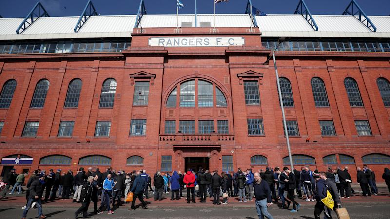 Uefa punishes Rangers for 'racist behaviour' of fans