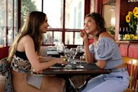 """<p>Lily Collins stars in this romantic comedy series as Emily Cooper, a marketing exec from Chicago who relocates to Paris after landing her dream job and discovers a world of high fashion, work challenges, and love interests.</p> <p><a href=""""http://www.netflix.com/title/81037371"""" class=""""link rapid-noclick-resp"""" rel=""""nofollow noopener"""" target=""""_blank"""" data-ylk=""""slk:Watch Emily in Paris on Netflix"""">Watch<strong> Emily in Paris</strong> on Netflix</a>.<br></p>"""