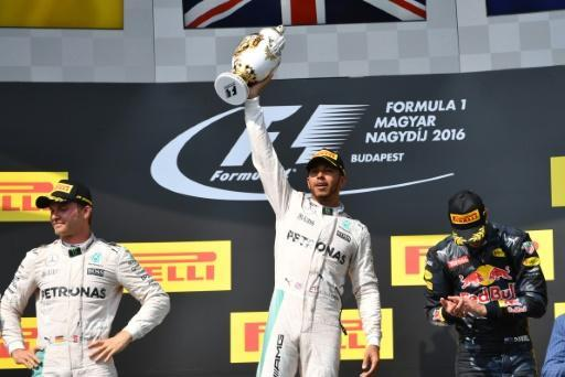 Hamilton wins Hungarian GP to claim overall F1 lead