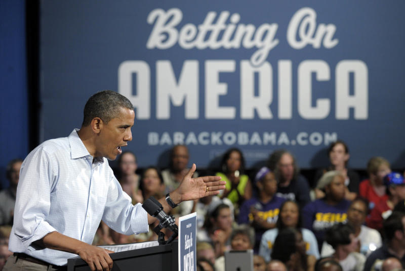 In new ad, Obama challenges Romney on China trade