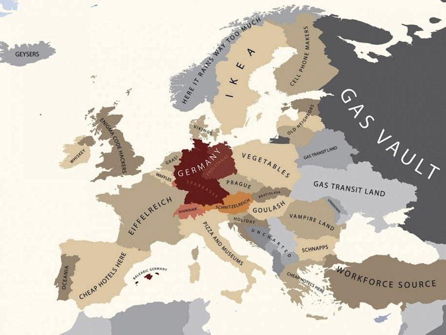 Current Map Of Germany.Cool Maps That Explain The Current World