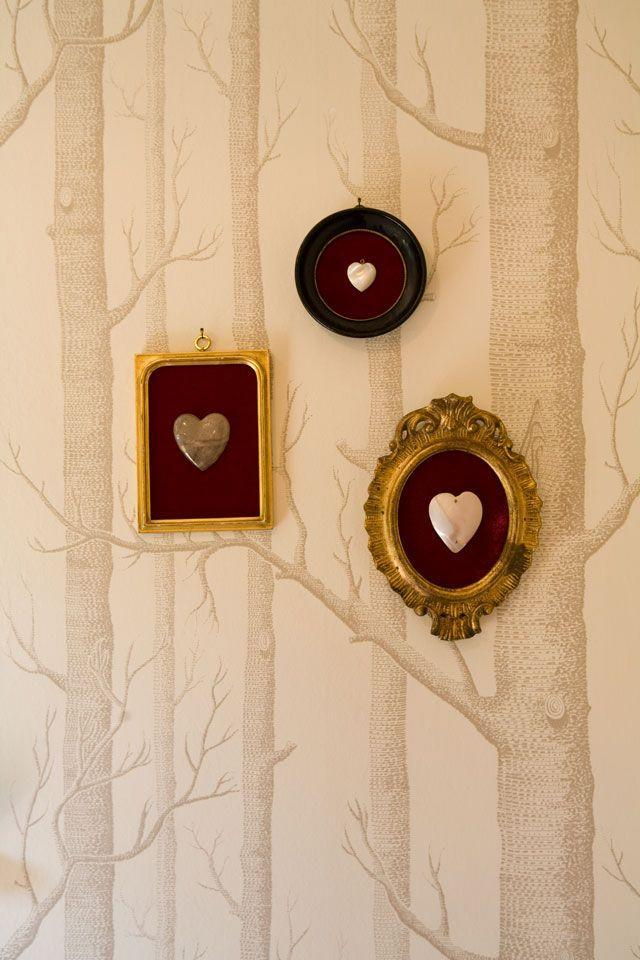 "<p>Tiny locket-style hearts become a statement piece of art when suspended in mini frames, like these at actress <a href=""https://www.elledecor.com/design-decorate/house-interiors/a7372/los-feliz-home-beth-riesgraf/"" rel=""nofollow noopener"" target=""_blank"" data-ylk=""slk:Beth Riesgraf's home"" class=""link rapid-noclick-resp"">Beth Riesgraf's home</a>. They're perfect for Valentine's Day, but understated enough that you could keep them up all year long.</p><p><a class=""link rapid-noclick-resp"" href=""https://go.redirectingat.com?id=74968X1596630&url=https%3A%2F%2Fwww.neimanmarcus.com%2Fp%2Fben-amun-heart-locket-necklace-prod229910244%3Fecid%3DNMCS__GooglePLA%26scid%3Dscplpsku192901240%26sc_intid%3Dsku192901240%26gclid%3DCjwKCAiA9vOABhBfEiwATCi7GL4Ew8nafGRSObOgAq1x4T3os5mC88oCHl6OVDdPT7qyt9Ud9PLwLxoC8VsQAvD_BwE%26gclsrc%3Daw.ds&sref=https%3A%2F%2Fwww.elledecor.com%2Flife-culture%2Ffun-at-home%2Fg2387%2Fvalentines-day-decor%2F"" rel=""nofollow noopener"" target=""_blank"" data-ylk=""slk:GET THE LOOK"">GET THE LOOK</a><br><em>Ben-Amun Heart Locket, Neiman Marcus, $70</em></p>"