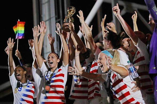 The U.S. women's national team has won two unofficial tournaments in 2018. Now it has to finish in the top three at the CONCACAF championship to qualify for the 2019 World Cup. (Getty)