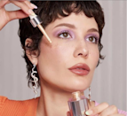 """<p>To say 2021 has been a big year for Halsey would be an understatement. In addition to <a href=""""https://www.allure.com/story/halsey-gives-birth-baby-ender-photos?mbid=synd_yahoo_rss"""" rel=""""nofollow noopener"""" target=""""_blank"""" data-ylk=""""slk:giving birth"""" class=""""link rapid-noclick-resp"""">giving birth</a> to a beautiful baby in July, she kicked off the year by <a href=""""https://www.allure.com/story/halsey-about-face-makeup-brand?mbid=synd_yahoo_rss"""" rel=""""nofollow noopener"""" target=""""_blank"""" data-ylk=""""slk:launching About-Face"""" class=""""link rapid-noclick-resp"""">launching About-Face</a>, a colorful new makeup line that instantaneously impressed everyone who tried it. """"Makeup has always been my go-to form of expression,"""" the <a href=""""https://www.allure.com/gallery/halsey-best-beauty-moments?mbid=synd_yahoo_rss"""" rel=""""nofollow noopener"""" target=""""_blank"""" data-ylk=""""slk:singer said"""" class=""""link rapid-noclick-resp"""">singer said</a> in the August 2021 issue of <em>Allure</em>, the cover of which she graces. """"Makeup allows me to try on a new persona for the day.""""</p> <p><strong>Star product:</strong> Dall'Assen says the application process for the <a href=""""https://shop-links.co/1747507343725681894"""" rel=""""nofollow noopener"""" target=""""_blank"""" data-ylk=""""slk:About-Face Shadowsticks"""" class=""""link rapid-noclick-resp"""">About-Face Shadowsticks</a> ($21 each) is nearly as fun as the colors and <a href=""""https://www.allure.com/story/halsey-about-face-shadowsticks-review?mbid=synd_yahoo_rss"""" rel=""""nofollow noopener"""" target=""""_blank"""" data-ylk=""""slk:resulting looks"""" class=""""link rapid-noclick-resp"""">resulting looks</a>.</p>"""