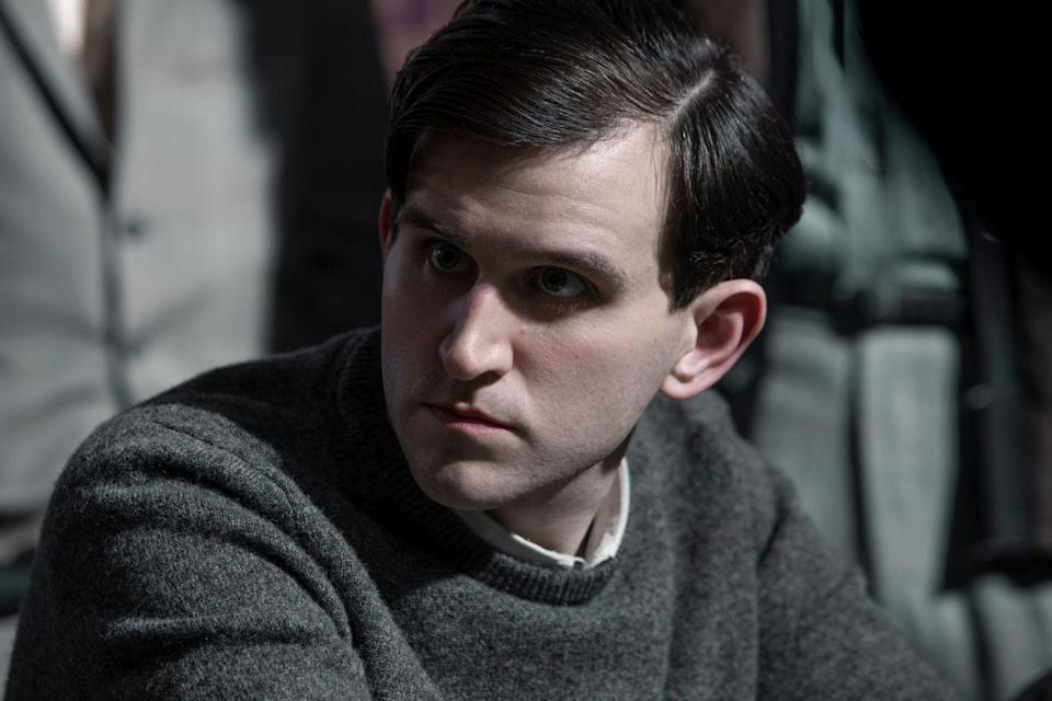 <p>As with many of the young men in Beth's life, Harry goes from being a competitor to a friend to a love interest throughout the series. Melling is undoubtedly best known for playing Dudley Dursley in the Harry Potter films, but has also proved he knows how to pick a Netflix project: Prior to <em>The Queen's Gambit</em>, he appeared in <em>The Old Guard</em>, <em>The Devil All the Time</em>, and <em>The Ballad of Buster Scruggs</em>.</p>