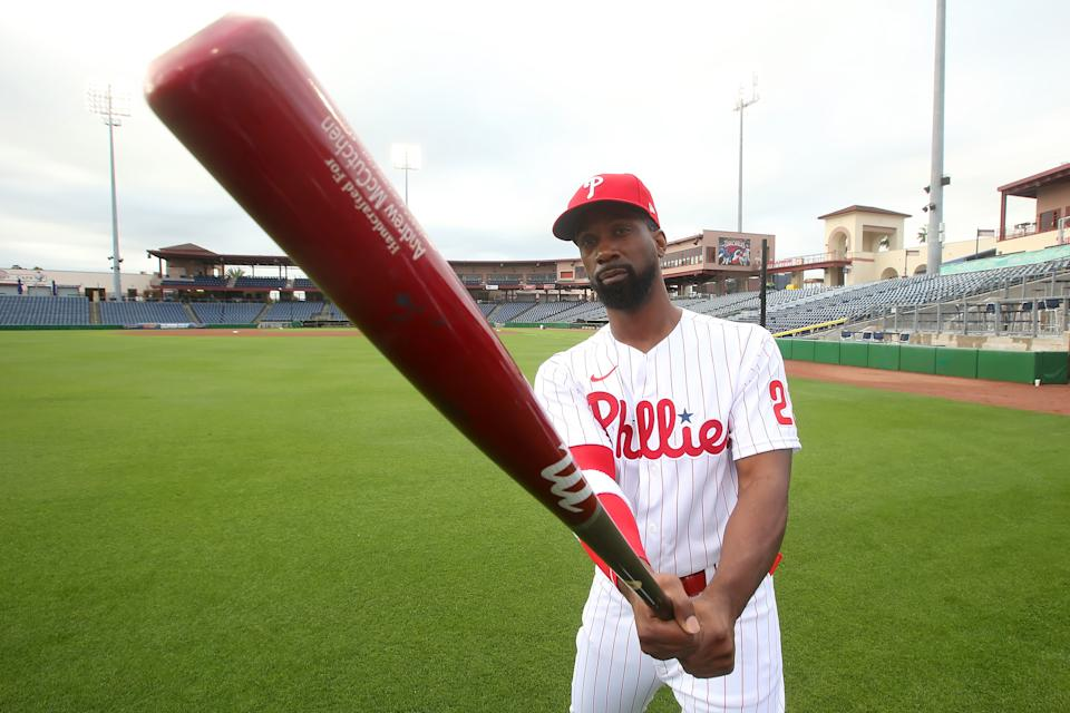 Andrew McCutchen of the Phillies.