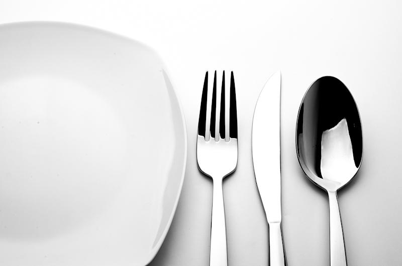 Update your old flatware for a sleek and modern 20-piece set from Mikasa—currently on sale for only $27 (was $120). (Photo: Getty Images)