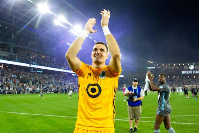 Vito Mannone and streaking Minnesota United are off to the U.S. Open Cup final. (David Berding/USA Today)