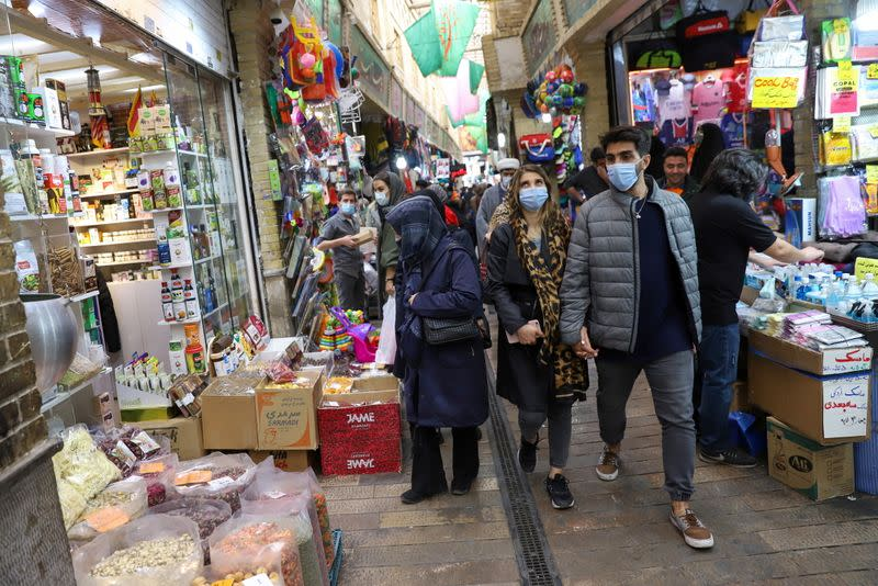 Iranians prepare to celebrate the new year, restricted by the pandemic