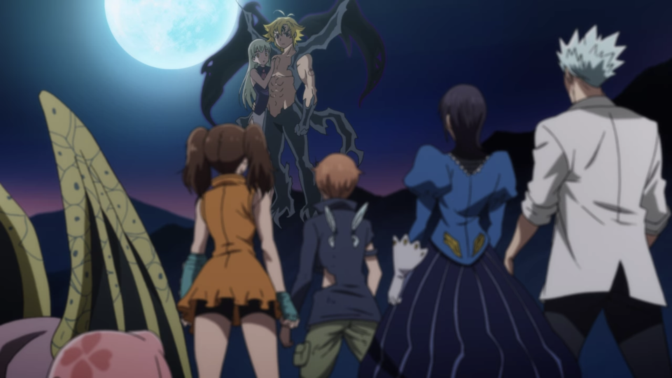 The latest and final season of The Seven Deadly Sins is now streaming on Netflix Singapore. (Screenshot: Netflix)