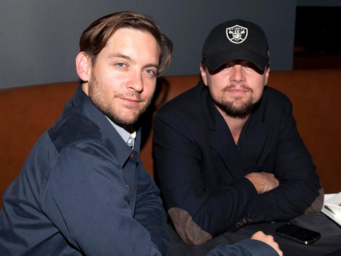 leo dicaprio and tobey maguire