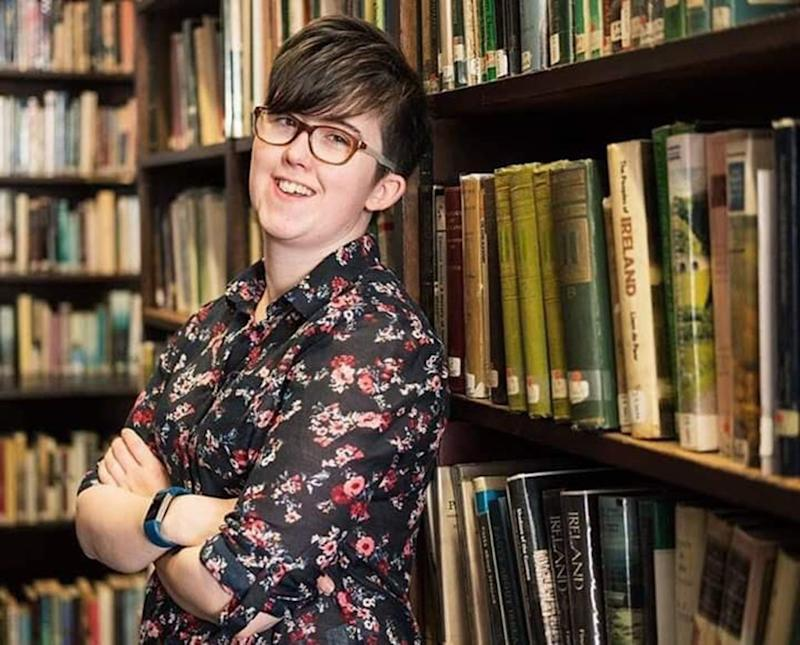 Journalist Lyra McKee was killed in a shooting on April 18 in Londonderry (Picture: Getty)