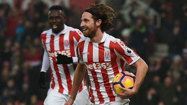 <p><strong>Team Goals:</strong> 32</p> <p><strong>Allen's Goals: </strong>6</p> <br><p>Despite Stoke's array of attacking options, it's actually midfielder Joe Allen who leads the way for the Potters this season. That being said, he's closely followed by Peter Crouch, Marko Arnautovic, Xherdan Shaqiri, and former favourite Bojan Krkic, before he left for Germany.</p>