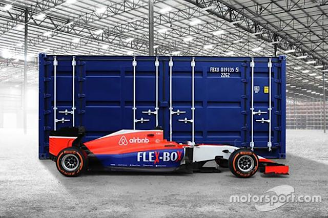 "#1 Marussia MR03B (2015) <span class=""copyright"">Manor </span>"