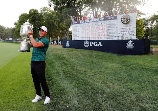Brooks Koepka won last year's PGA Championship. Who will take this year's? (AP)