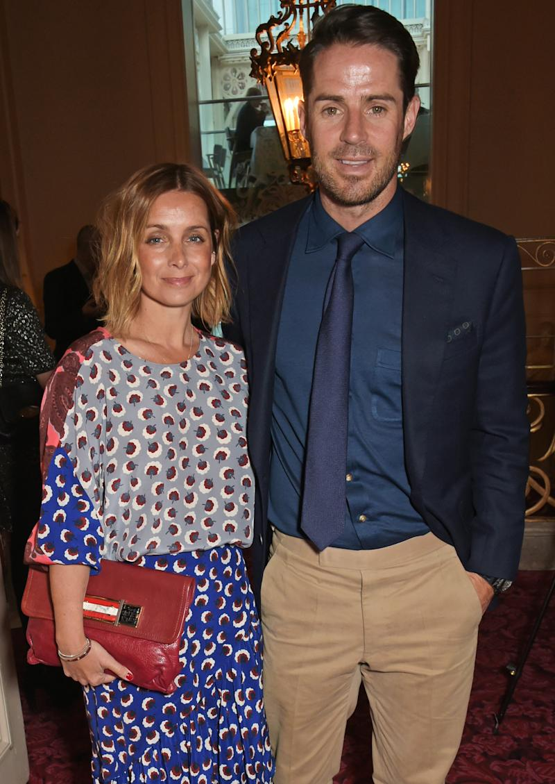 "Louise Redknapp (L) and Jamie Redknapp attend as Audi hosts the opening night performance of ""La Fille Mal Gardee"" at The Royal Opera House on April 23, 2015 in London, England. (Photo by David M. Benett/Getty Images for Audi)"