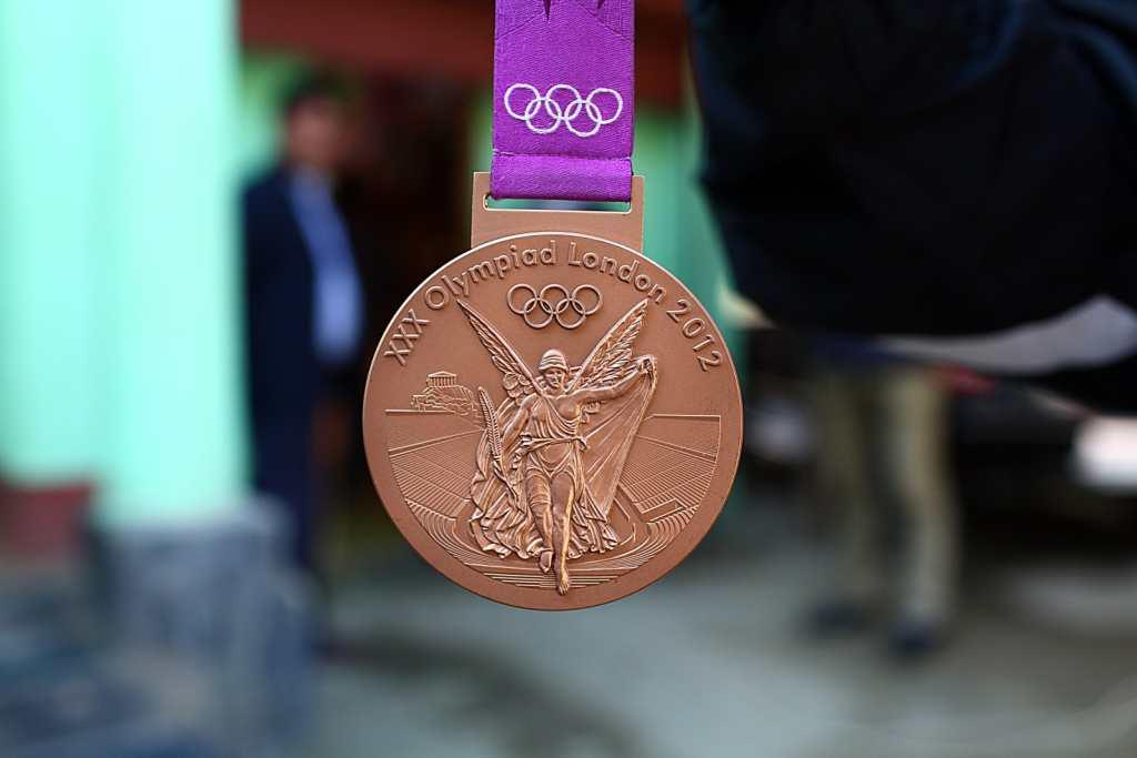 Mary Kom's Olympic bronze medal, the first by an Indian woman in boxing