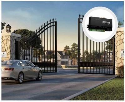 Property managers using the Smart Access Hub have the choice to connect and control a variety of access points such as vehicle gates, pedestrian doors, and amenity gates.