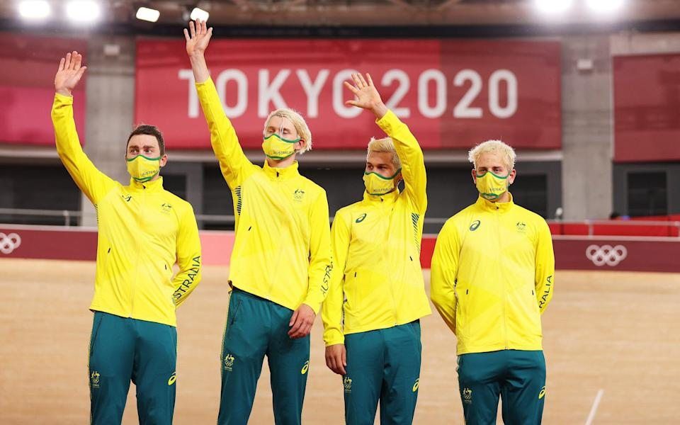 Why Team GB overhauling Australia in the medal table is the race that counts in Tokyo - Getty Images