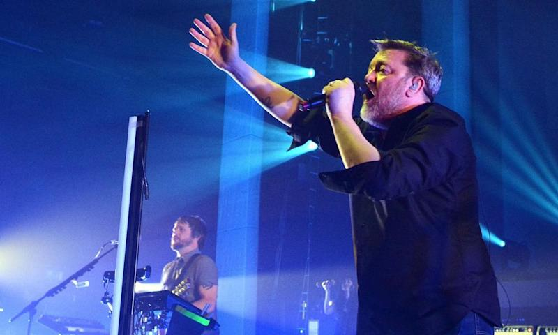'Fall in love with me' … Guy Garvey of Elbow.