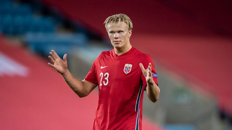 Haaland at 20 compares to Messi & Ronaldo, claims Norway coach