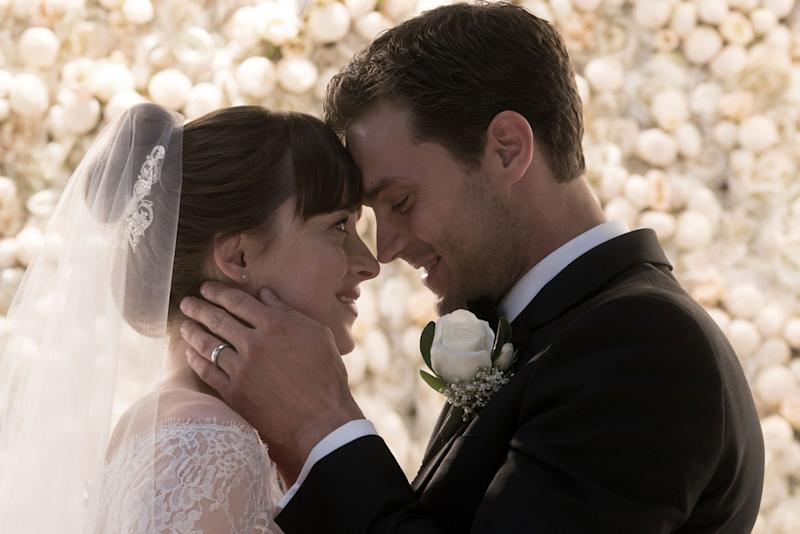 Dakota Johnson and Jamie Dornan in Fifty Shades Freed (Photo: Universal Pictures)