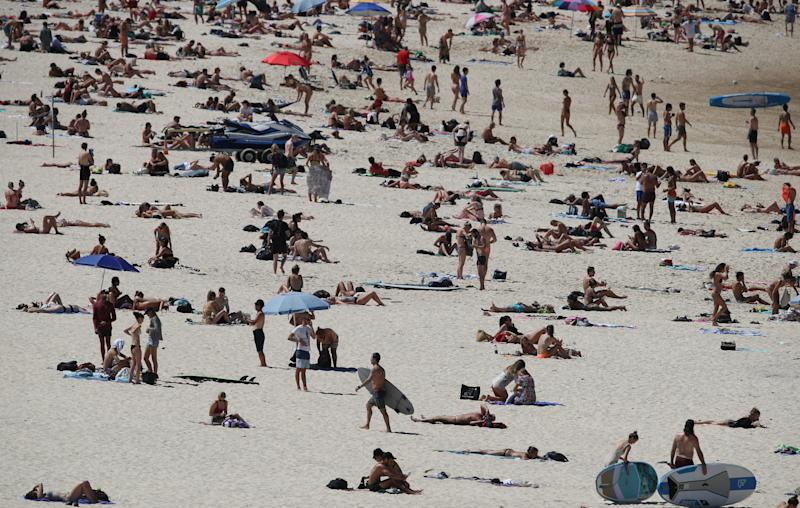 Sydney's Bondi Beach closed after swarmed by crowds