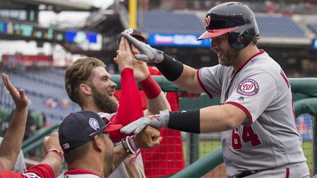 Nationals catcher Spencer Kieboom lost his tooth just moments before hitting his first major league home run.