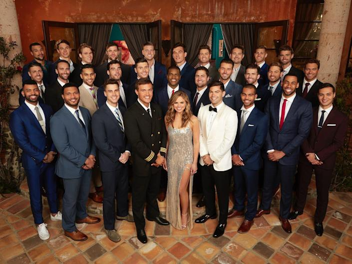 """The cast of Hannah Brown's season of """"The Bachelorette"""""""