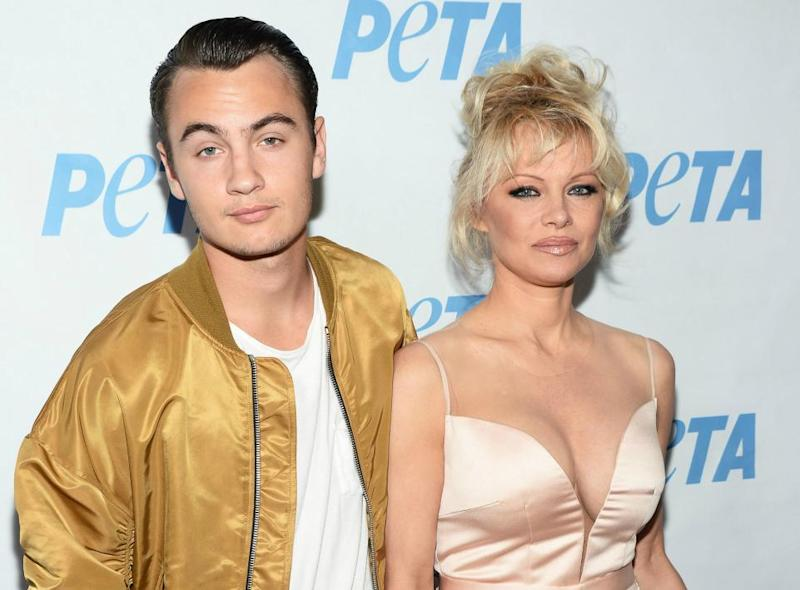 Brandon Thomas Lee and Pamela Anderson