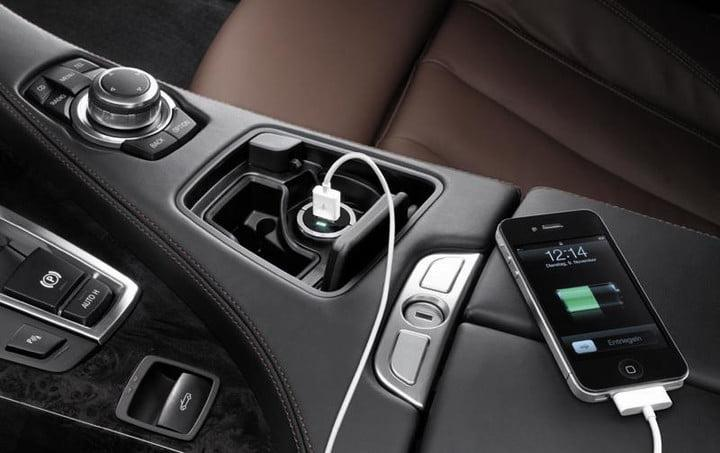 A phone plugged into a USB port in a car — USB Car Charger Hardly Works