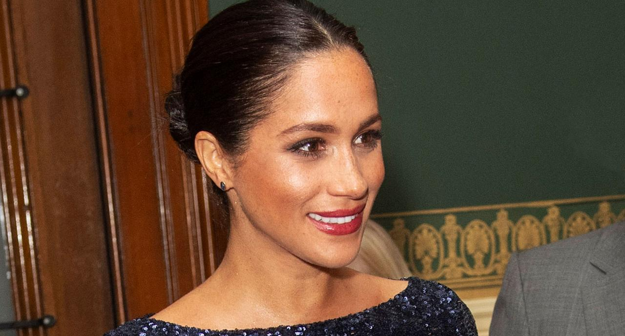 <p>Ahead, five products to copy the royal's stunning makeup. (Photo: Getty Images) </p>