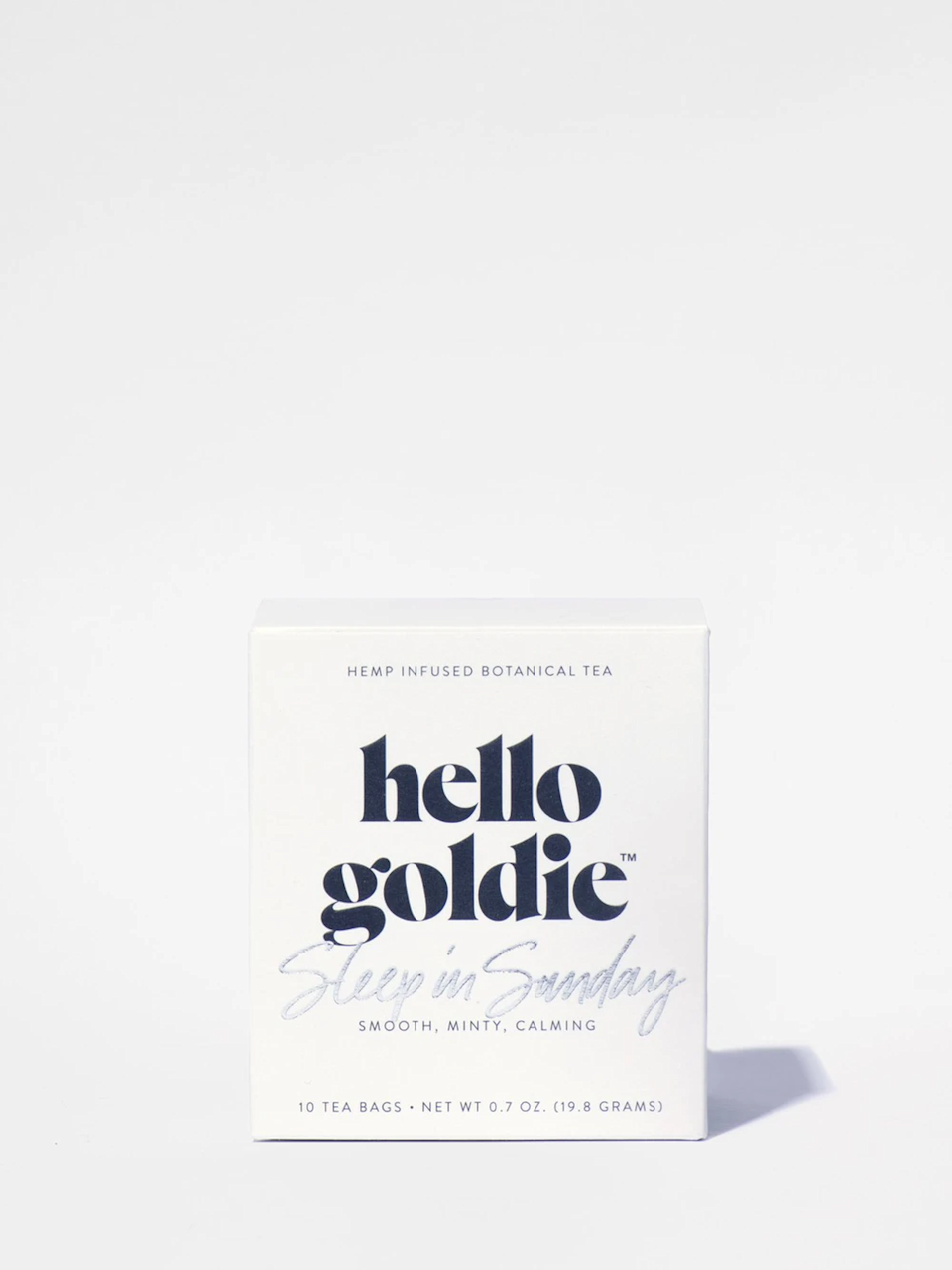 "<h3>Hello Goldie Sleep In Sunday Tea</h3><br>As we're locked in winter's chilly grasp, warming tea is always a welcome cold-weather pick-me-up. This botanical blend (made with a mint and a hint of CBD) doubles down on cozy relaxing vibes.<br><br><strong>Lagom Teas</strong> Balance Tea, $, available at <a href=""https://go.skimresources.com/?id=30283X879131&url=https%3A%2F%2Fstandarddose.com%2Fcollections%2Flagom-teas%2Fproducts%2Flagom-teas-balance-tea"" rel=""nofollow noopener"" target=""_blank"" data-ylk=""slk:Standard Dose"" class=""link rapid-noclick-resp"">Standard Dose</a>"