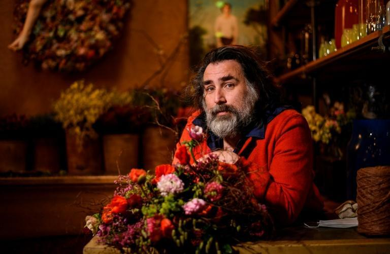 French florist artist Thierry Boutemy has worked for Sofia Coppola, Lady Gaga and the fashion house Hermes