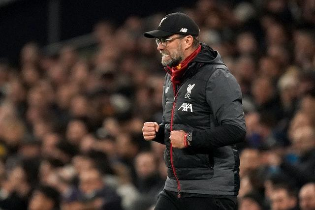Jurgen Klopp came out on top against Jose Mourinho in January. Liverpool won 1-0 away to Tottenham thanks to Roberto Firmino's first-half strike