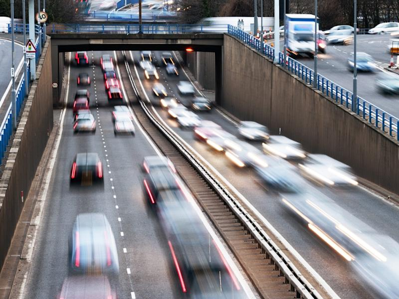 The city centre of Birmingham is often choked in traffic on its many urban roads: iStock
