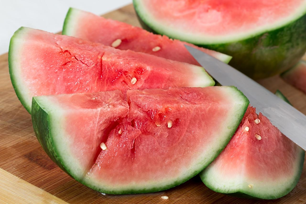 <p>You all know by now that watermelon is full of, well, water. This juicy summer fruit is also among the richest sources of lycopene, a cancer-fighting antioxidant that is found in red fruits and vegetables. </p>