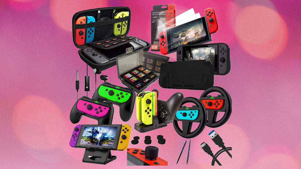 Orzly Geek Pack for Nintendo Switch. (Photo: Amazon)