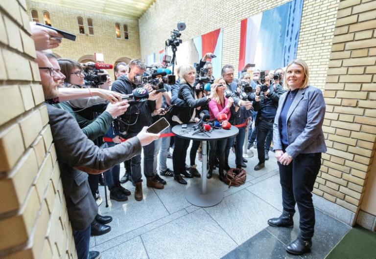 Norwegian government faces no confidence vote after minister's FB post
