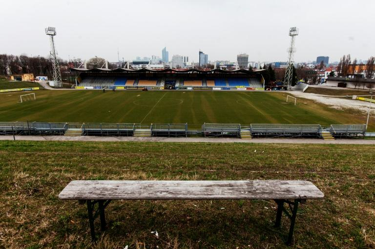 The now dilapidated terraces of what was once continental Europe's biggest stadium: First Vienna Football Club 1894