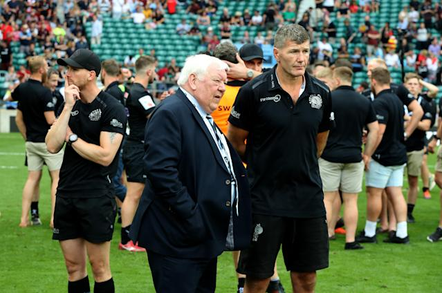 Tony Rowe and Rob Baxter (Credit: Getty Images)